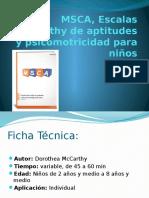 MSCA Escalas McCarthy de Aptitudes y Psicomotricidad (1)