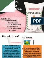 Proses Industri Pupuk Urea Fix