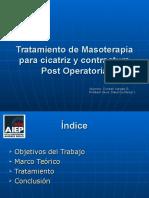 Tratamiento de Cicatriz y Contractura Post Operatoria