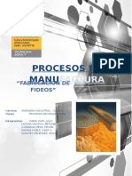 Procesos de Manufactura Final