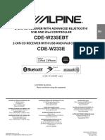 CDE-W235EBT