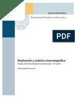 Realizacion y Estetica Cinematografica 2º Cav 1s