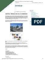 Energia Termica_ Central de Ciclo Combinado Ventajas e Inconvenientes