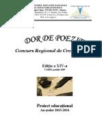 Dor de Poezie 2016 Didactic