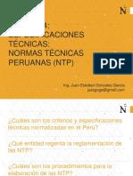 4 Especificaciones Tecnicas - Normas Tecnicas Peruanas