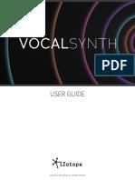 VocalSynth Help