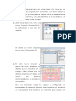 El Desarrollo de Programas Tanto en Visual Basic 6