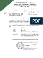 Surat Undangan Bkd Kab Kota
