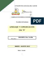 Portafolio Lenguaje y Comunicación