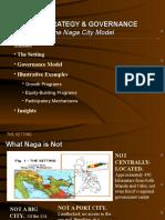 City Strategy Governance the Naga City Model
