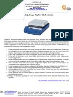 Hotplate - 10 Tips Bekerja Dengan Hotplate Di Lab