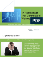 17 Health Ideas That Contribute to Wellness
