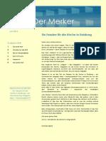 Der Merker - Ausgabe 0