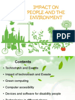 change impact on people and environment