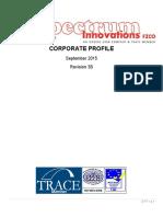 Spectrum Innovations FZCO - Corporate Profile