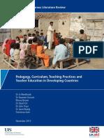 Pedagogy Curriculum Teaching Practices Education