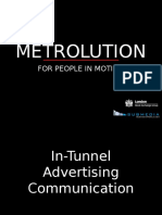 In-Tunnel Advertising 101