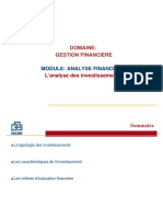 Gf2 Analyse Investissement