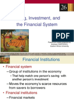 Chapter 26_Saving, Investment & Financial System