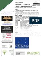 Newsletter Term 2 Week 7