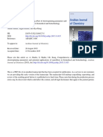 Comprehensive review summarizing effect of electrospinning parameters and.pdf