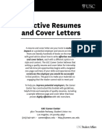 Resume and Cover Letters30240