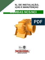 Bomba Água NCS Manual Imbil