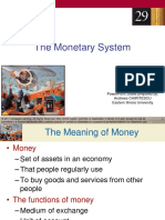 Chapter 29_The Monetary System