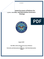 DOD DASD CIIA Strategy - Aug 2009