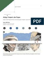 Artjog, Freeport, Dan Papua