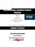 (2016-S1) - FINS3616 - Tutorial Slides - Week 02 - Introduction + FX Bas...