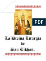 La Divina Liturgia de San Tikhon