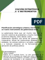 PLANIFICACION ESTRATEGICA INSTRUMENTOS
