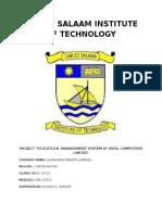 Dar Es Salaam Institute of Technology