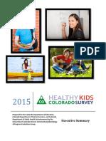 2015 Healthy Kids Colorado Survey