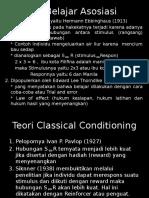 Teori Belajar (Macam-macam)