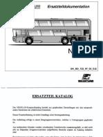 Ersatzteilkataloge Neoplan N122