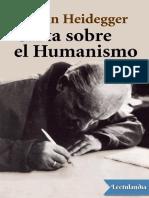 Carta Sobre El Humanismo - Martin Heidegger