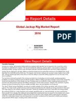 Global Jackup Rig Market Report