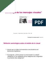 Semiología de Los Mensajes Visuales