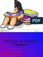 PPT - Methods of Teaching Grammar