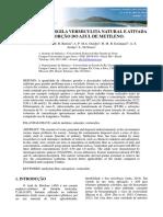 Caracterizações Vermiculita e Isoterma