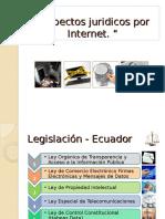 Aspectos Juridicos Por Internet.