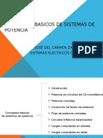Conceptos Basicos de Sistemas de Potencia