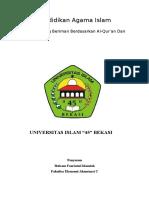 Pendidikan Agama Islam (Ciri-ciri Orang Yang Beriman)
