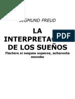 Sigmund Freud - La Interpretacion de Los Suenos