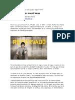 Entrevista a Fernando Cabrera