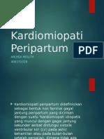 Kardiomiopati Peripartum