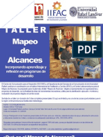 Taller Mapeo de Alcances en Guatemala