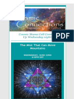 COSMIC CONNECTIONS JUNE NEWSLETTER